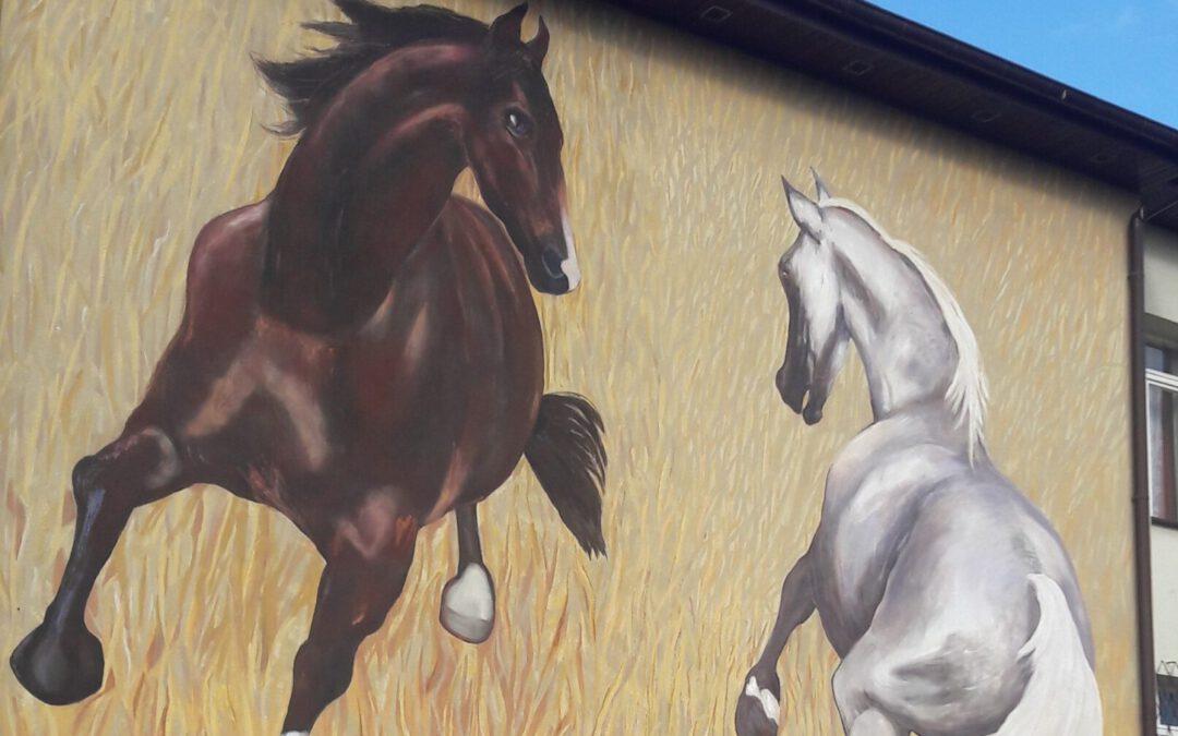 Odsłonięcie muralu i wystawa